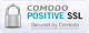 Comodo Secured - PositiveSSL Certificate